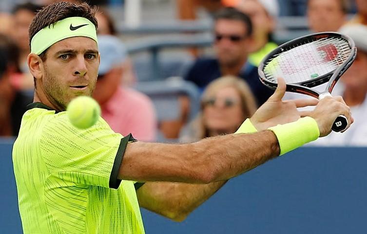 Tenista Del Potro renuncia por lesión al torneo de Queen's
