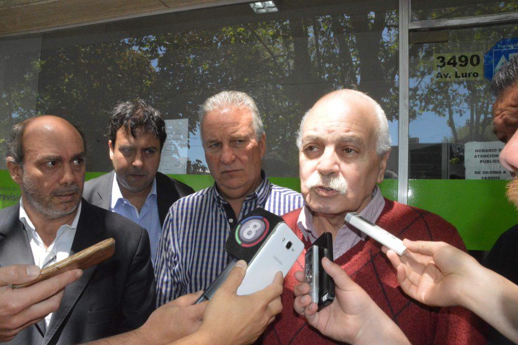 Antonio Gilardi, secretario general del sindicato de Trabajadores Municipales. En las próximas horas se reanudan las negociaciones con el Ejecutivo.