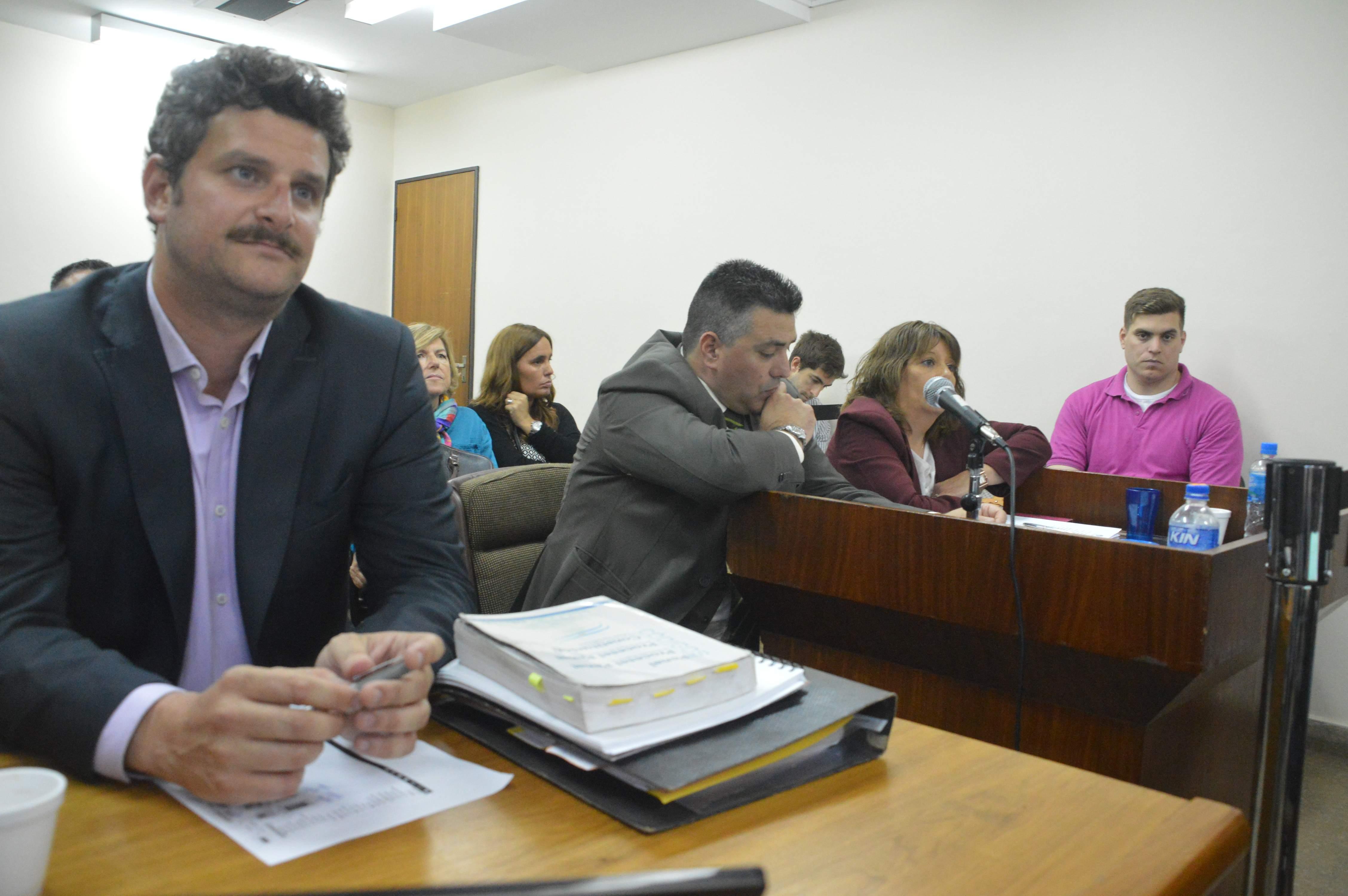 El fiscal Leandro Favaro fue designado por el Ministerio Público para estar al frente del debate oral.