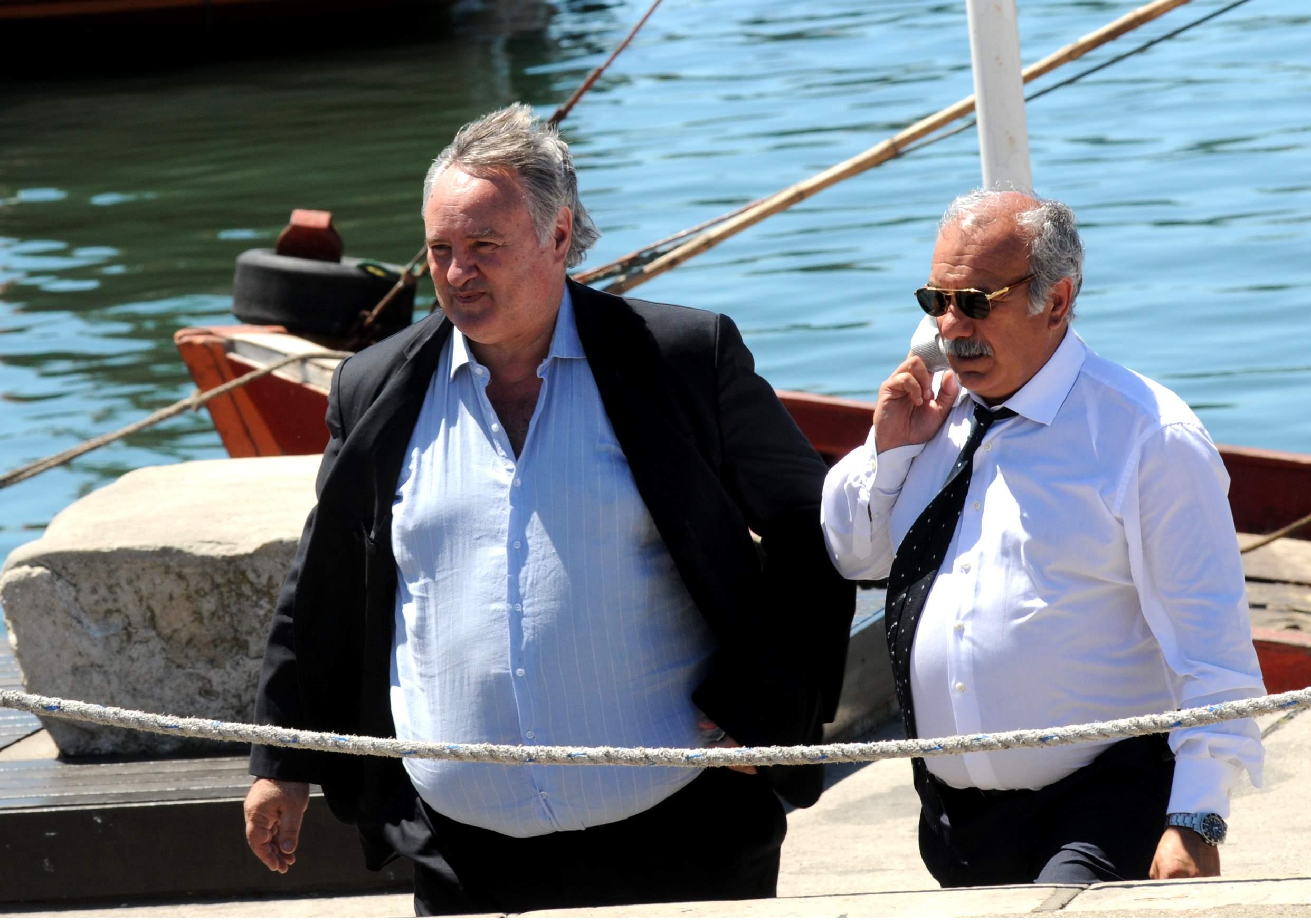 Joaquín De la Torre, ministro de la Producción, en la foto junto a Luis Ignoto