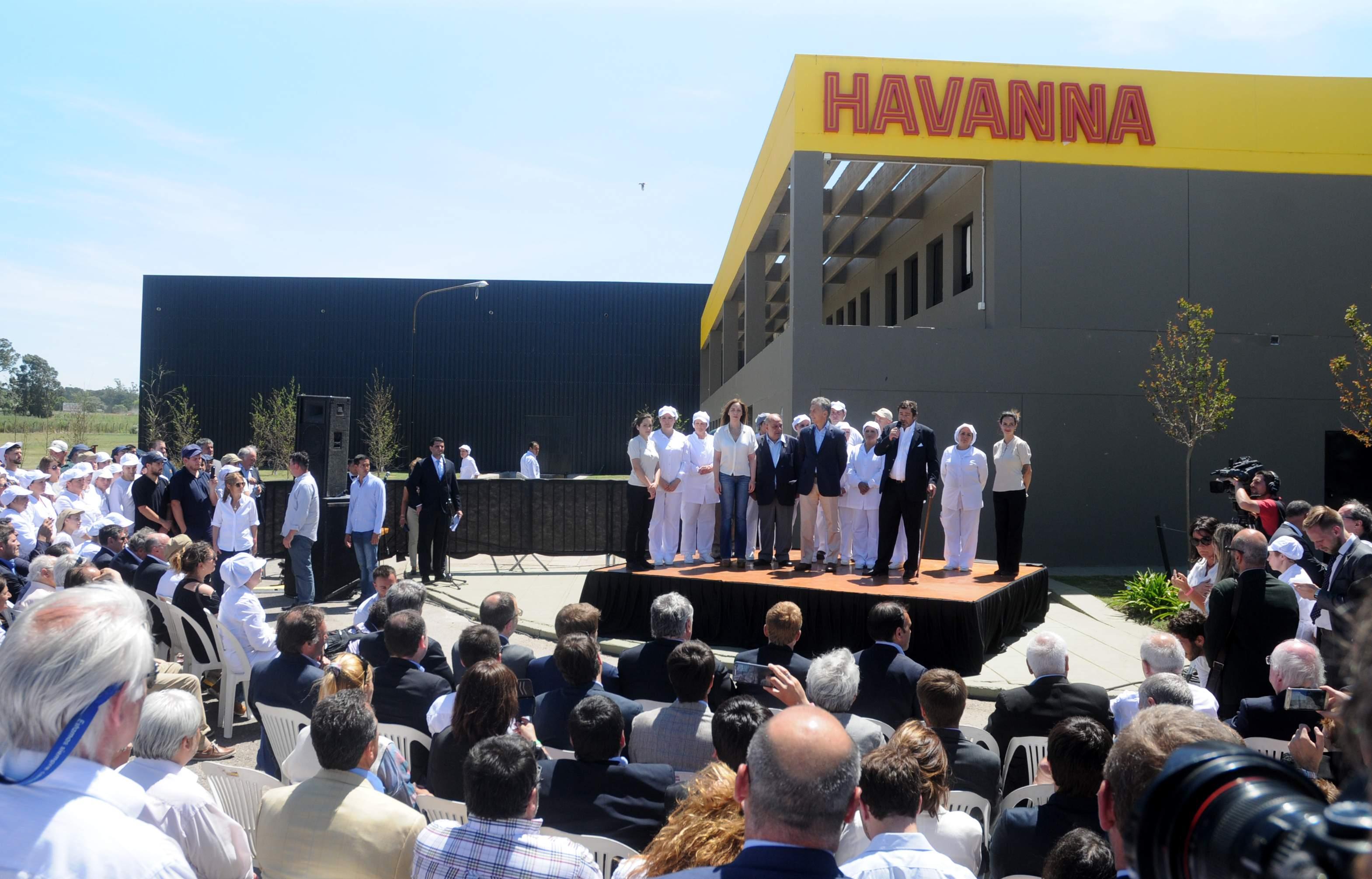 En el acto de Havanna tampoco habló el intendente Arroyo