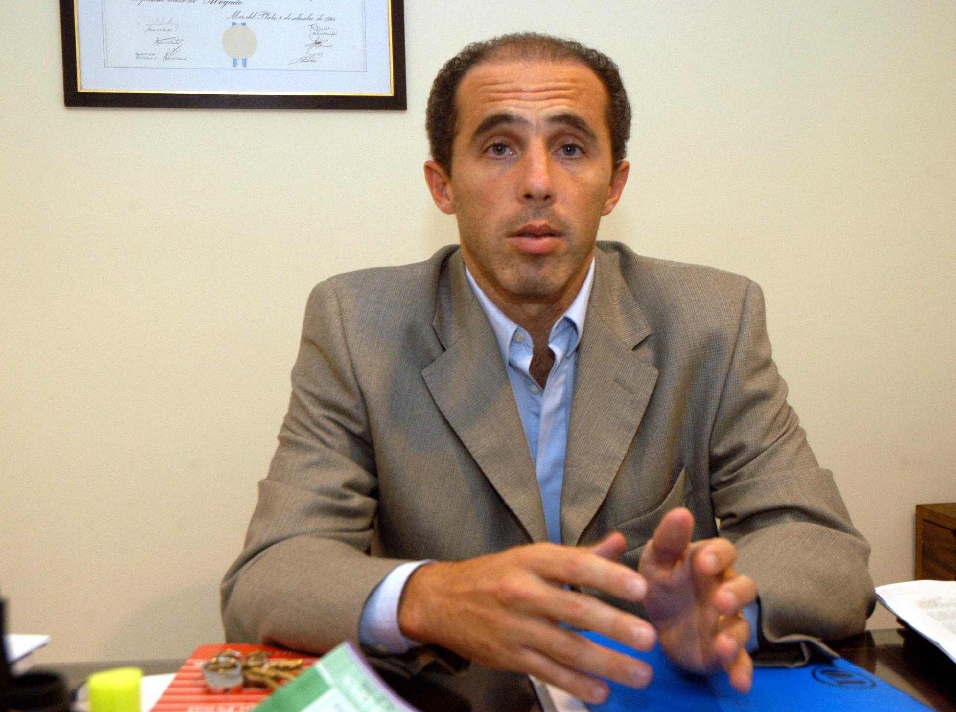El fiscal Juan Manuiel Pettigiani, quien presentó la denuncia que puso la lupa sobre la iniciaiva de las fotomultas.