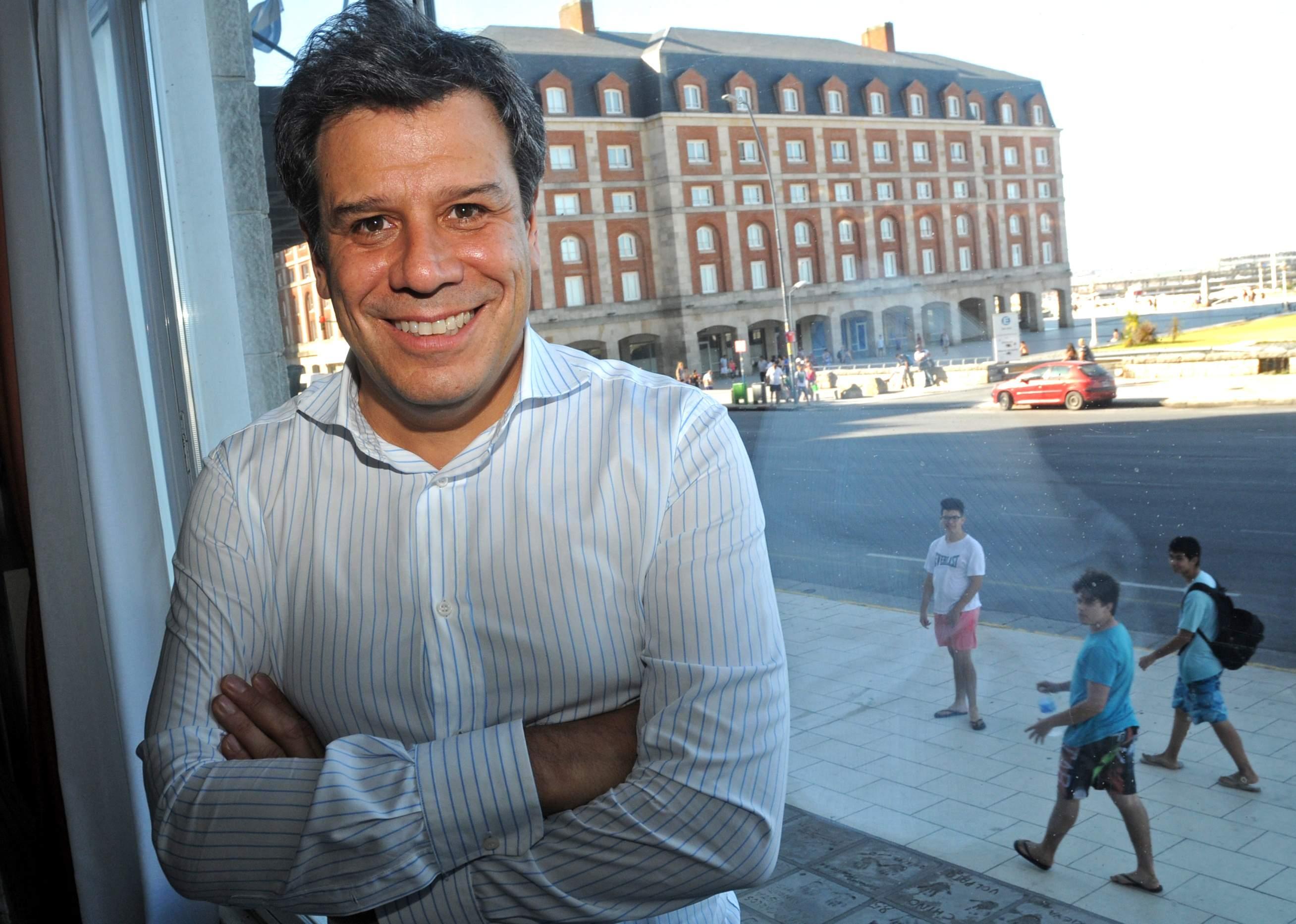 Facundo Manes, quien dio una charla en Mar del Plata
