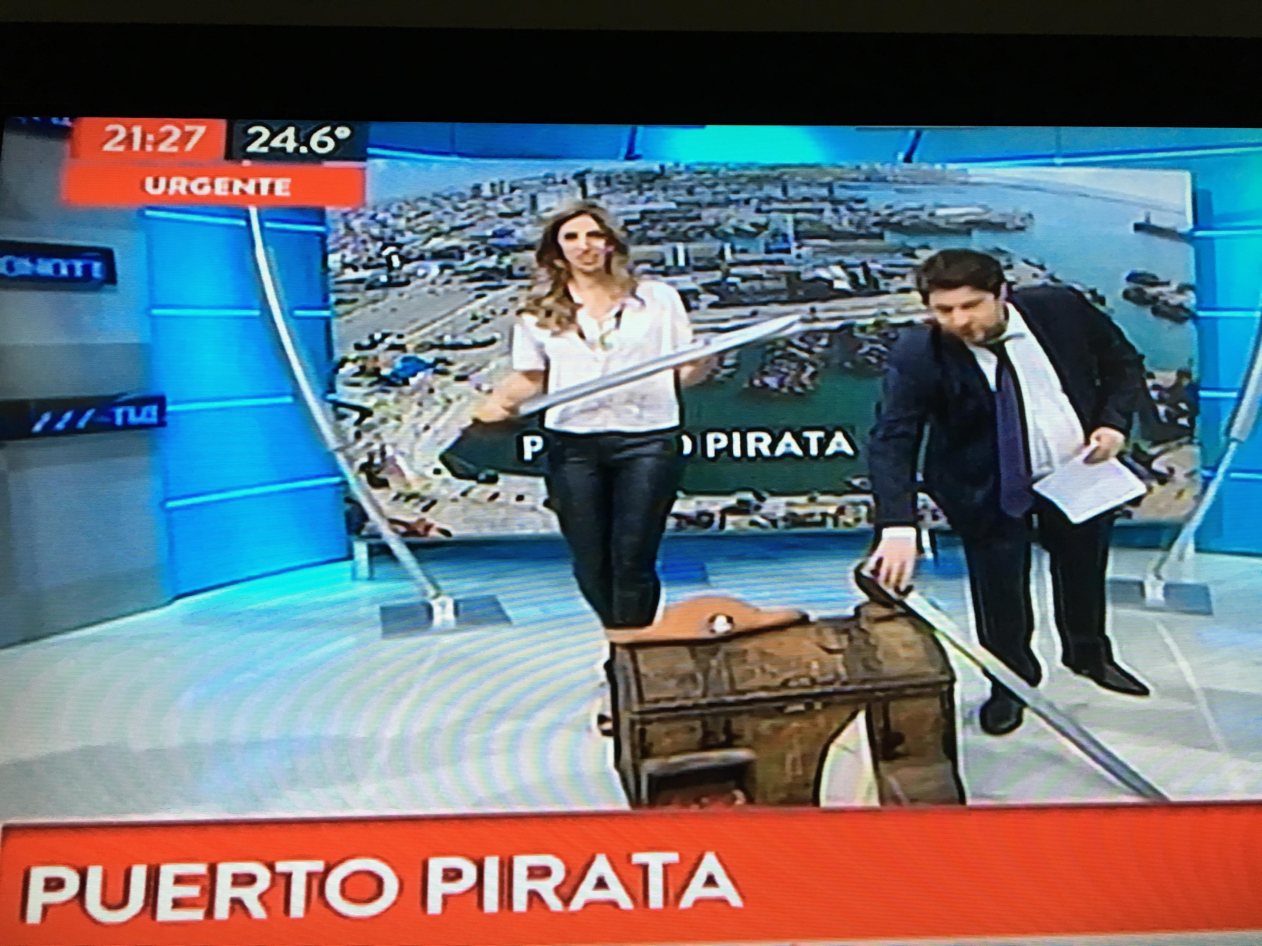 Maximiliano Abad denunció a la Aduana de Mar del Plata anoche en un programa de TN
