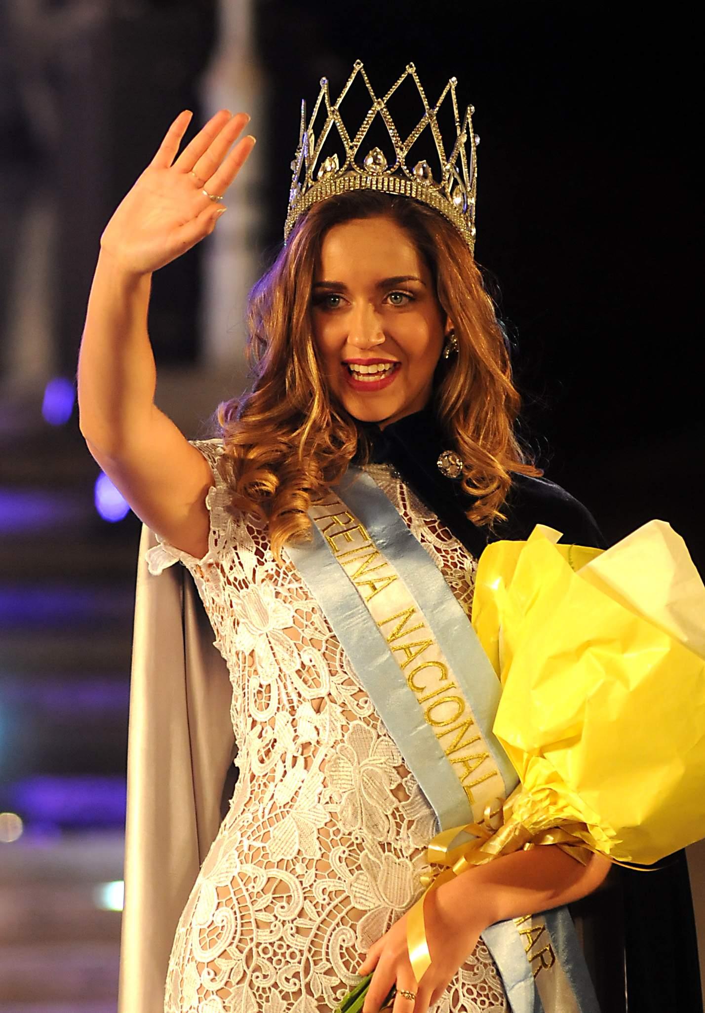 La nueva Reina Nacional del Mar, Giuliana Chiappa, elegida en una fiesta que pudieron ver muy pocos marplatenses.