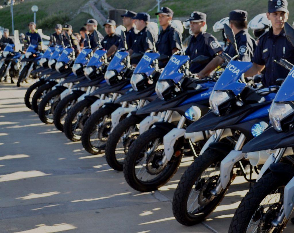 Suman 16 Motocicletas Para La Polic A De General Alvarado