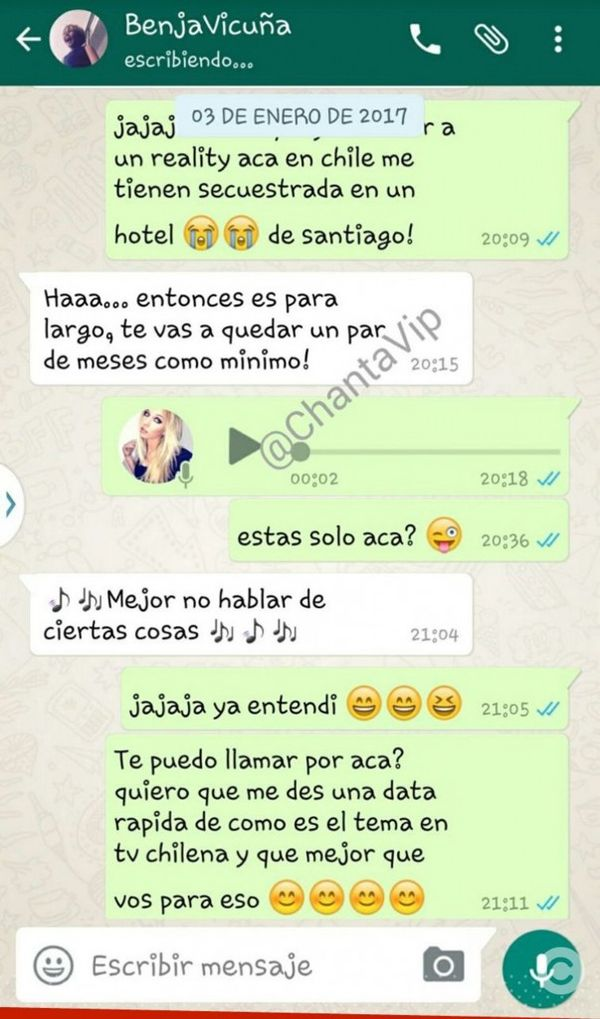 Chat caliente en español