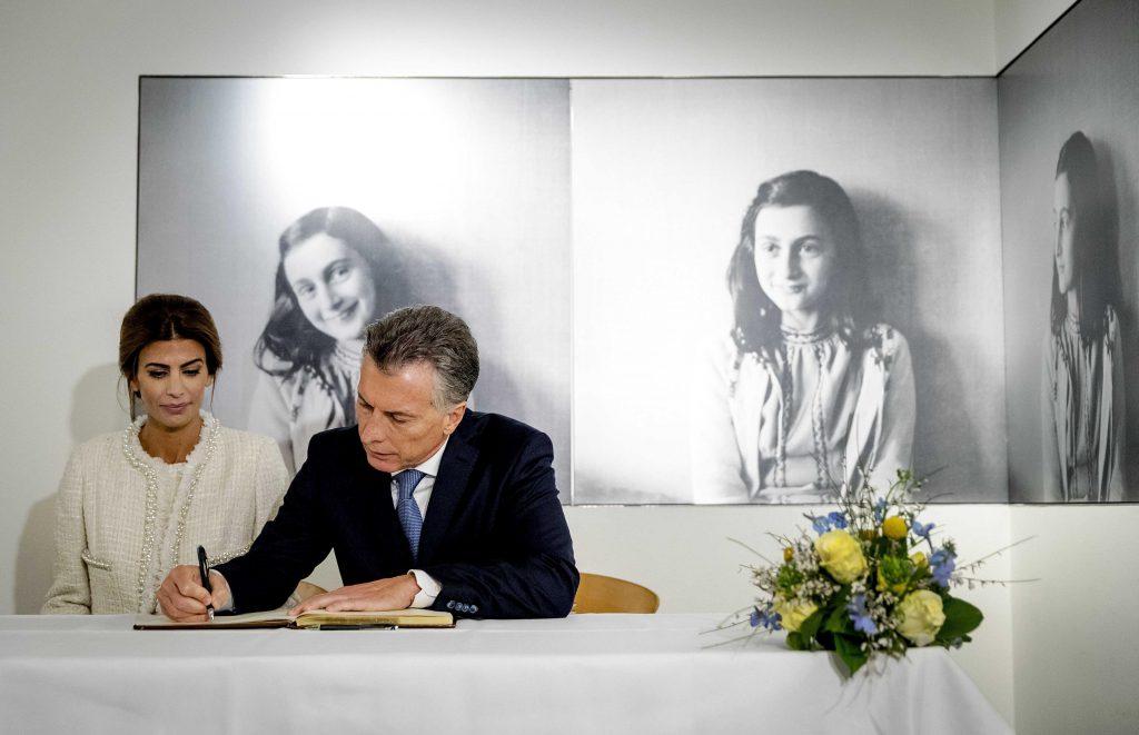 Macri visit la casa de ana frank diario la capital de mar del plata - La casa de ana ...