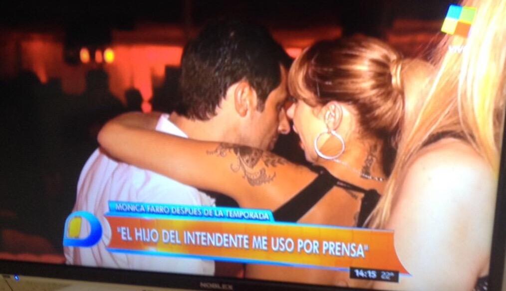 """Mónica Farro se fue de Mar del Plata y procedió a """"incendiar"""" al hijo del intendente. """"Me usó para tener prensa"""", dijo en los programas de chimentos."""