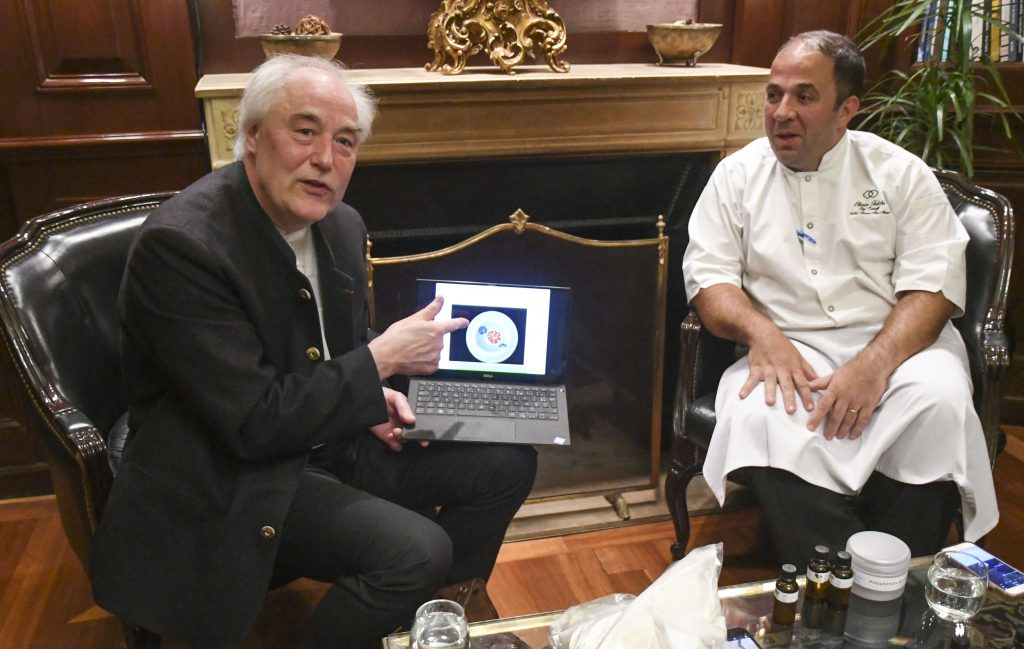 el padre de la cocina molecular present su nueva