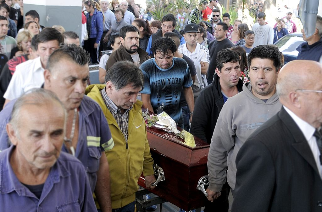 Los restos hallados en Villa Ballester son de Araceli Fulles