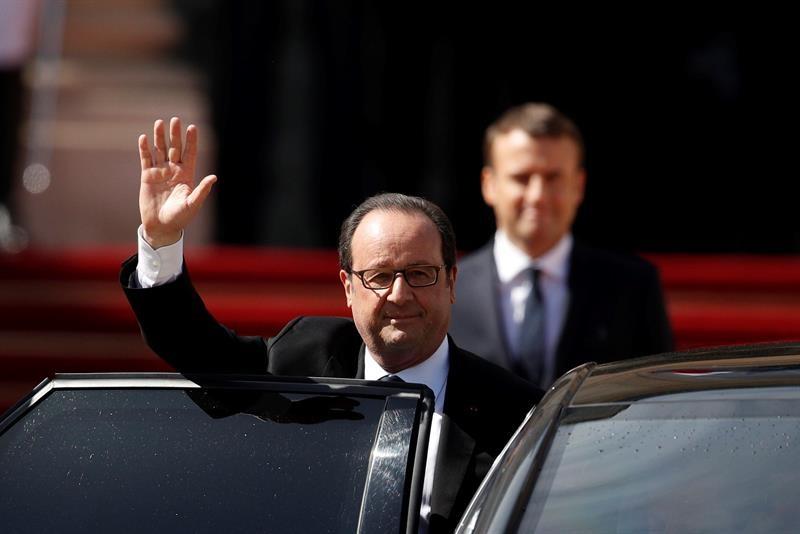 Alistan traspaso de la presidencia — Francia