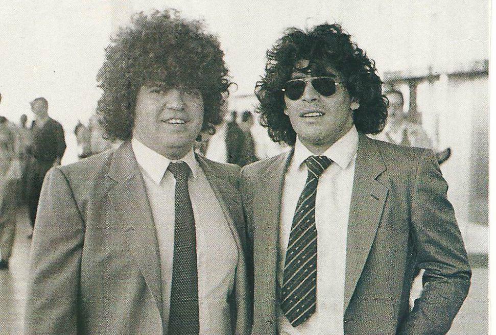 El sentido comunicado de Maradona por la muerte de Cyterszpiler