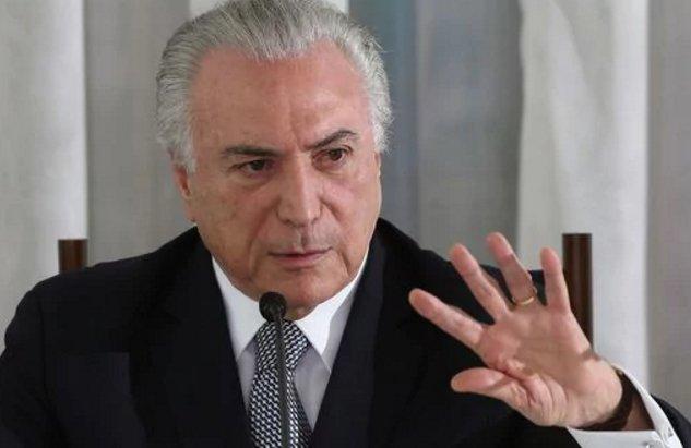 Temer pide la suspensión de investigación por corrupción tras escándalo