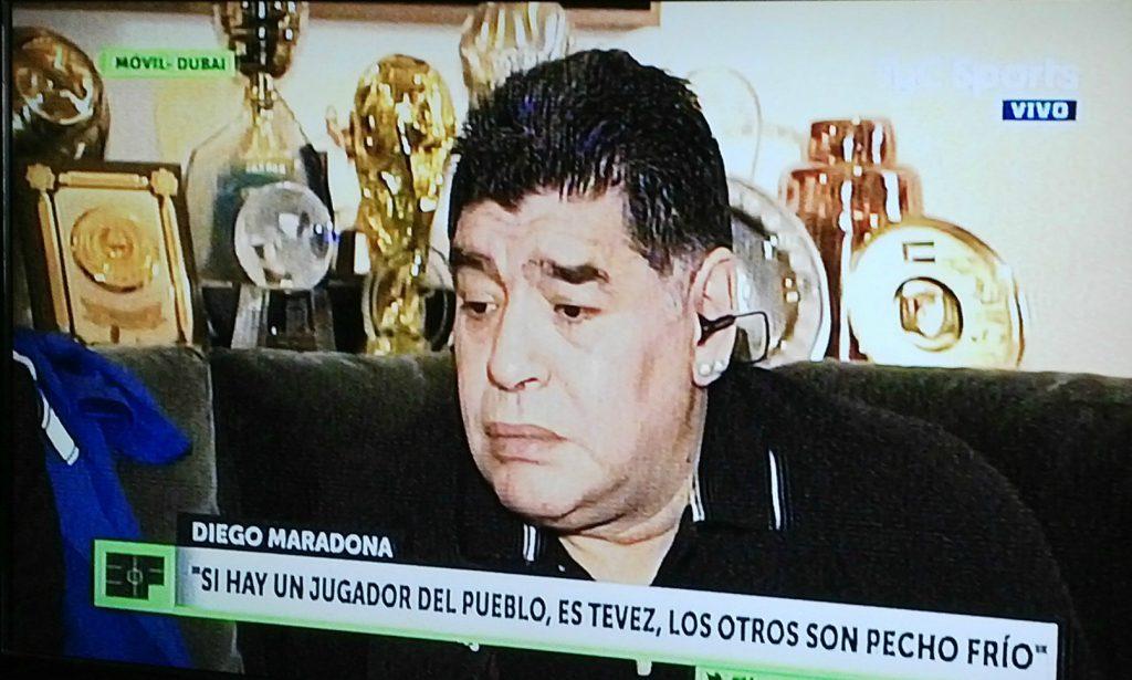 Diego volvió a atacar a Verón: