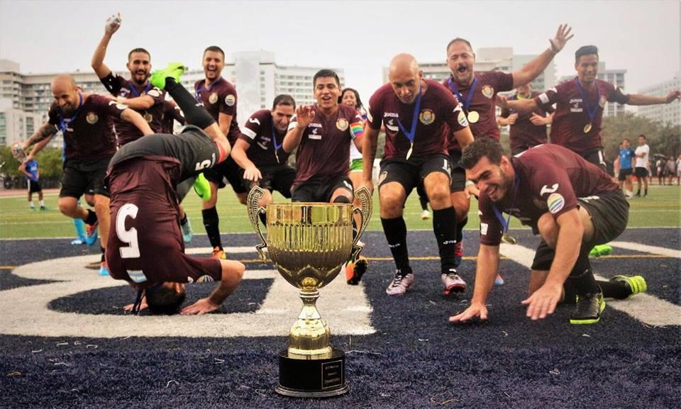 Argentina salió campeón mundial de fútbol gay