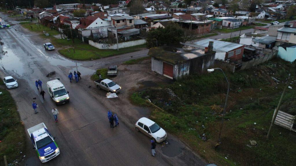 Murió un hombre tras un accidente en la avenida Colón