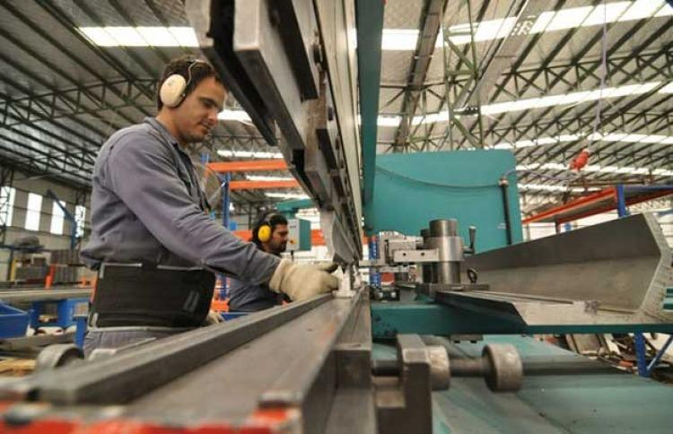 Producción de Pymes industriales cayó 2,6% en 2017