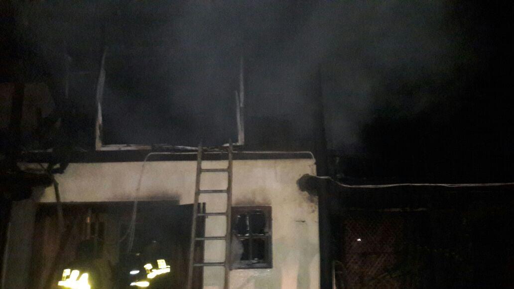 antartida argentina incendio casa quinta