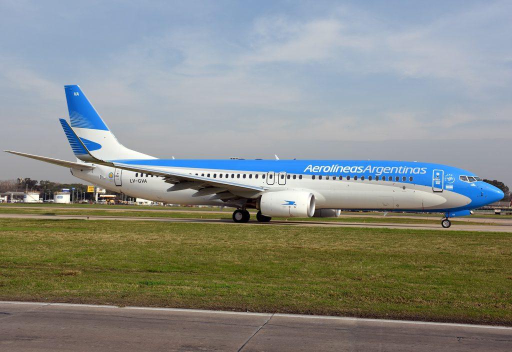 Aerolíneas Argentinas transportó un récord de pasajeros en las vacaciones de invierno
