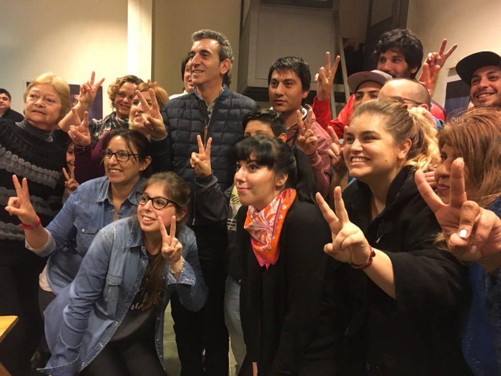 Otro momento incómodo de Esteban Bullrich, junto a María Eugenia Vidal
