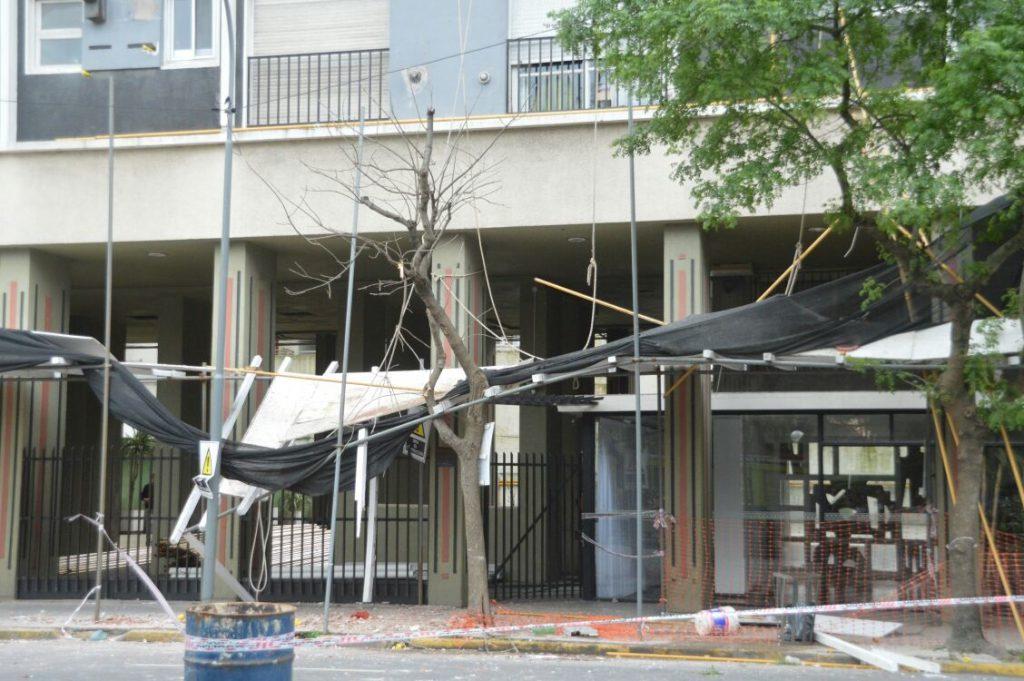 Obrero murió tras caer de un octavo piso en Mar del Plata
