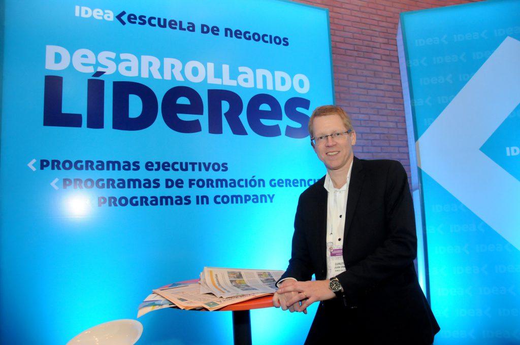 El presidente del Banco de la Provincia de Buenos Aires. Juan Curutchet.