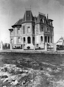 Chalet construido en la La Loma, 1914.
