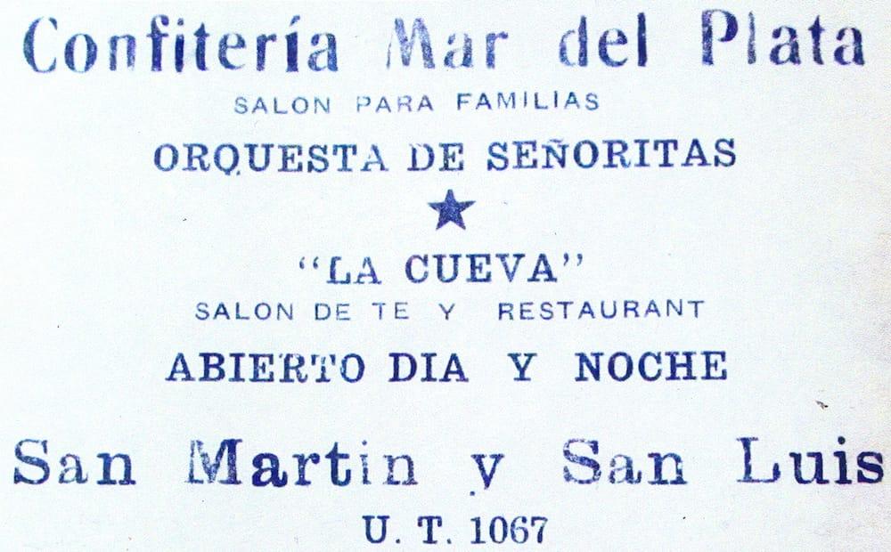 Aviso publicitario publicado por el diario La Hora el 20 de enero de 1939.