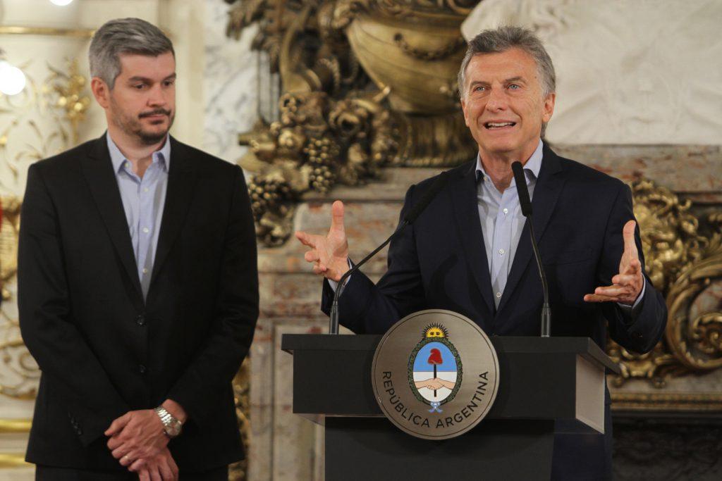 Macri anunció una reducción en la estructura del Estado