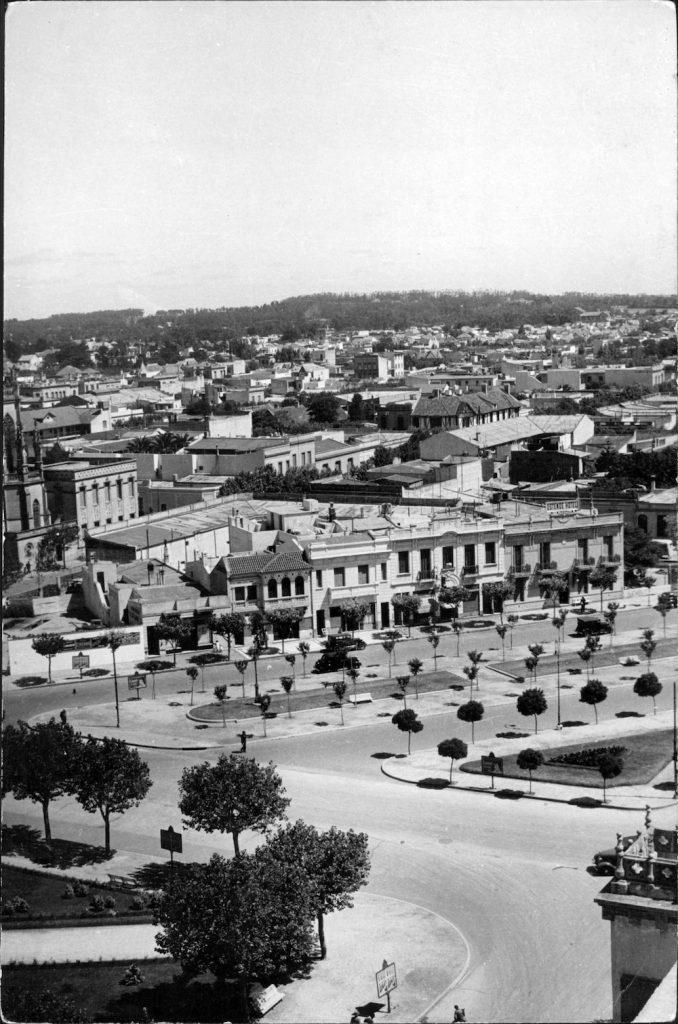 Vista del Paseo Alberdi, 1939.