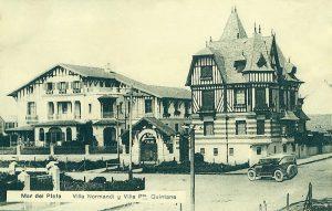 Villa Normandi -proyectada en 1918- y Villa Presidente Quintana (1917).