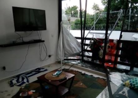 Grave accidente de dos jovenes batanenses en Playa del Carmen (México)