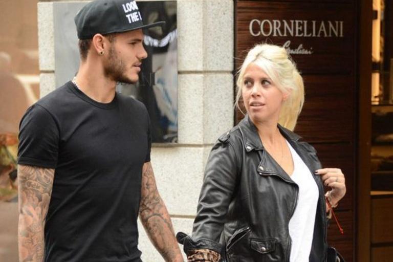Furioso, Mauro Icardi le rechazó un abrazo a Wanda