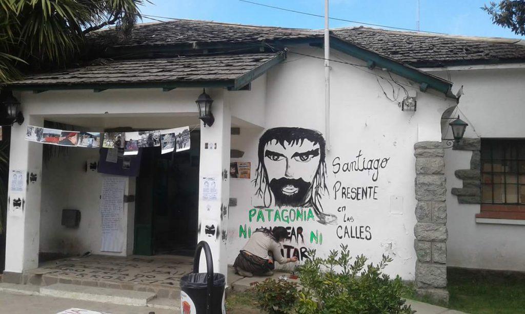 Incidentes en la marcha por Santiago Maldonado en el Bolsón