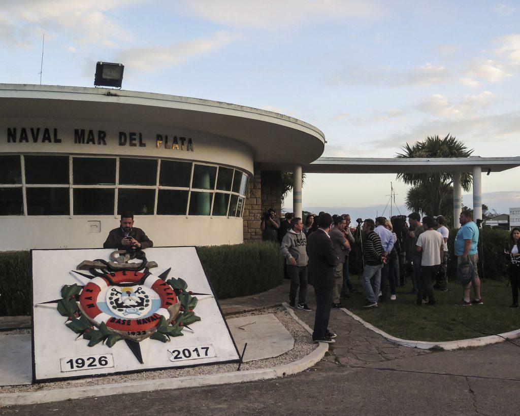 El emotivo homenaje de Los Pumas al submarino ARA San Juan