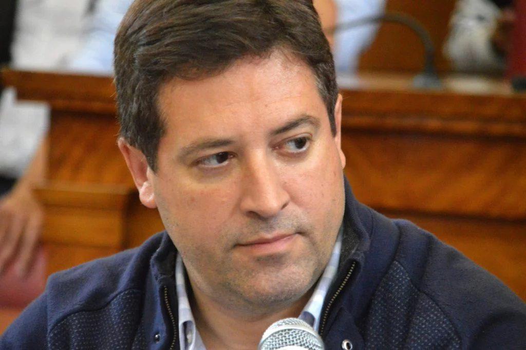 Hernán Mourelle, secretario de Economía y Hacienda municipal.