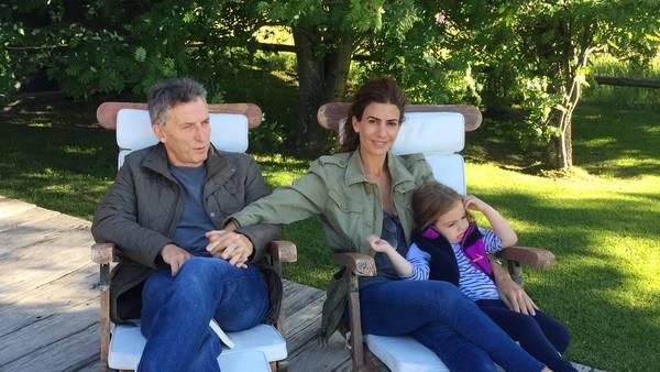 Macri ya está en Villa La Angostura para comenzar sus nuevas vacaciones