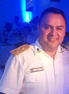Diego Gancedo, titular del Jefatura Distrital Norte.
