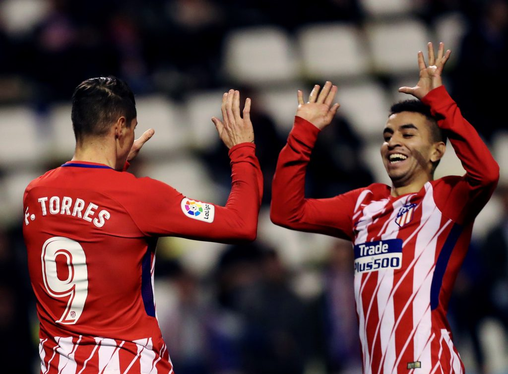 Diego Costa debuta en la Liga con gol y expulsión