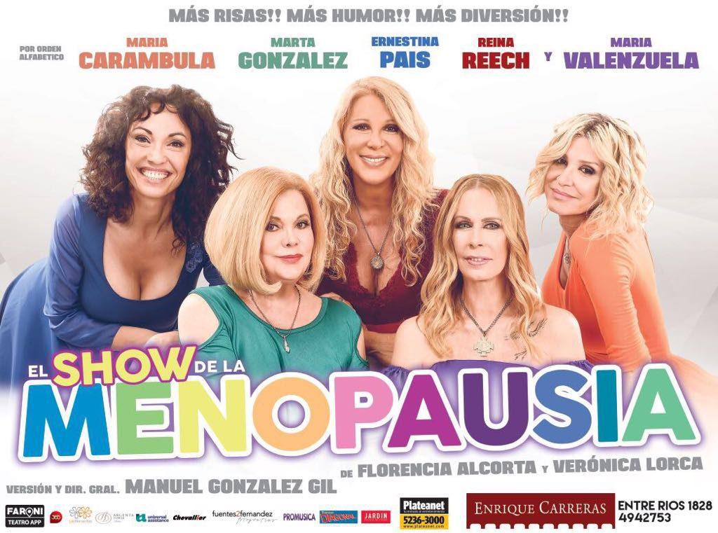 Sorteamos dos entradas para ver menopausia show diario for Diario el show del espectaculo