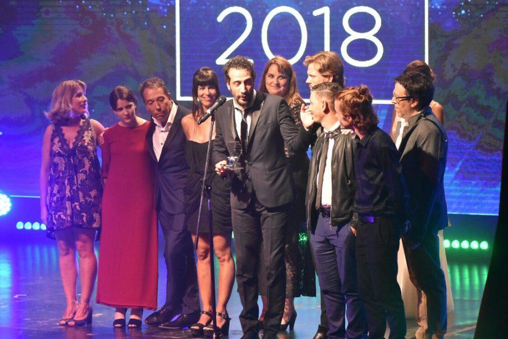 """""""El ardor"""" se quedó con tres premios Estrella de Mar."""