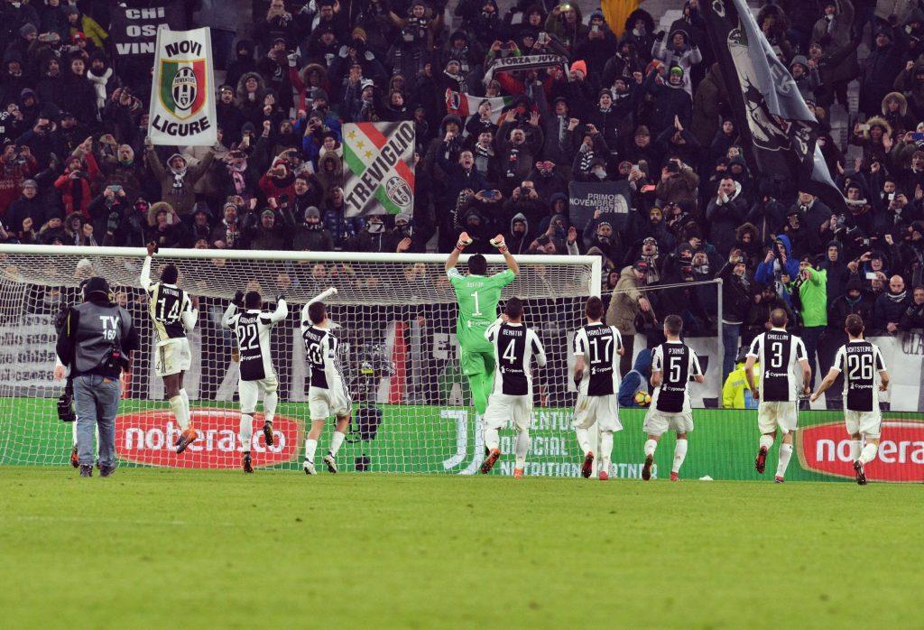 Juventus se anota en la final de la Copa Italia