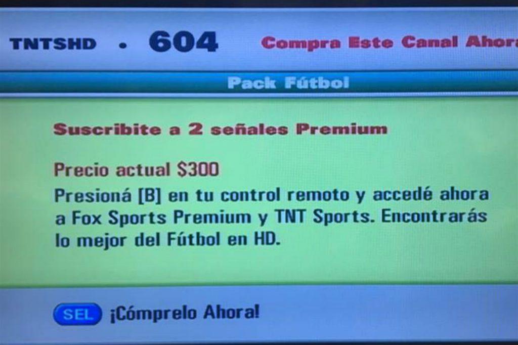 Aumenta el pack fútbol para ver la Superliga
