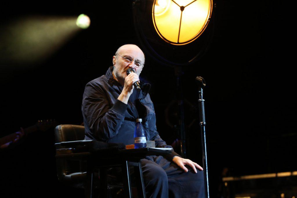 Phil Collins recorre sus mejores éxitos en un show en Buenos Aires