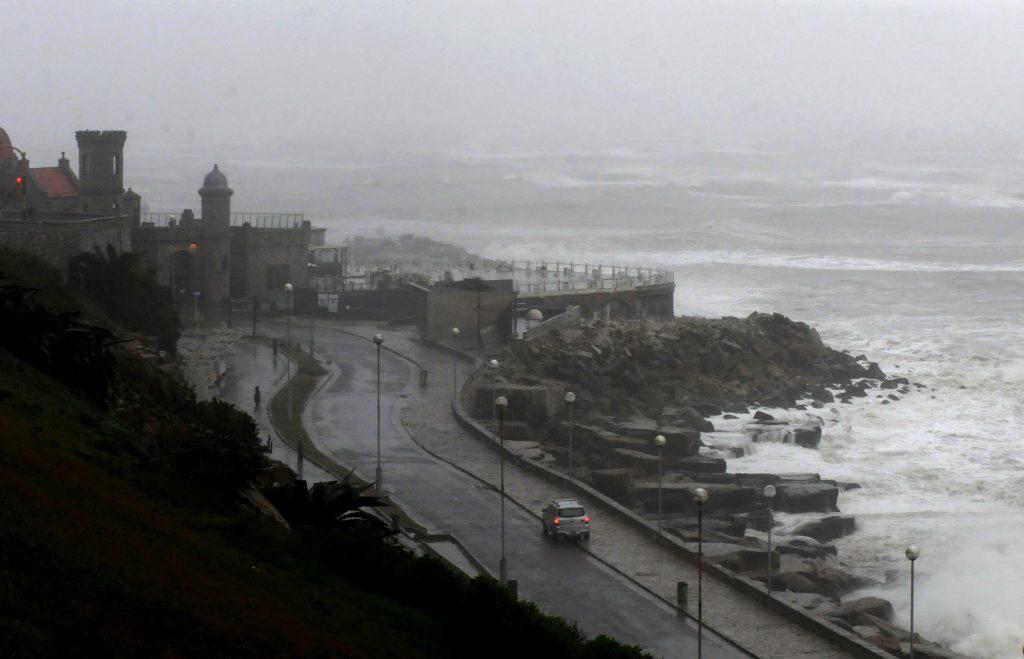Alerta por tormentas fuertes para centro y este del país