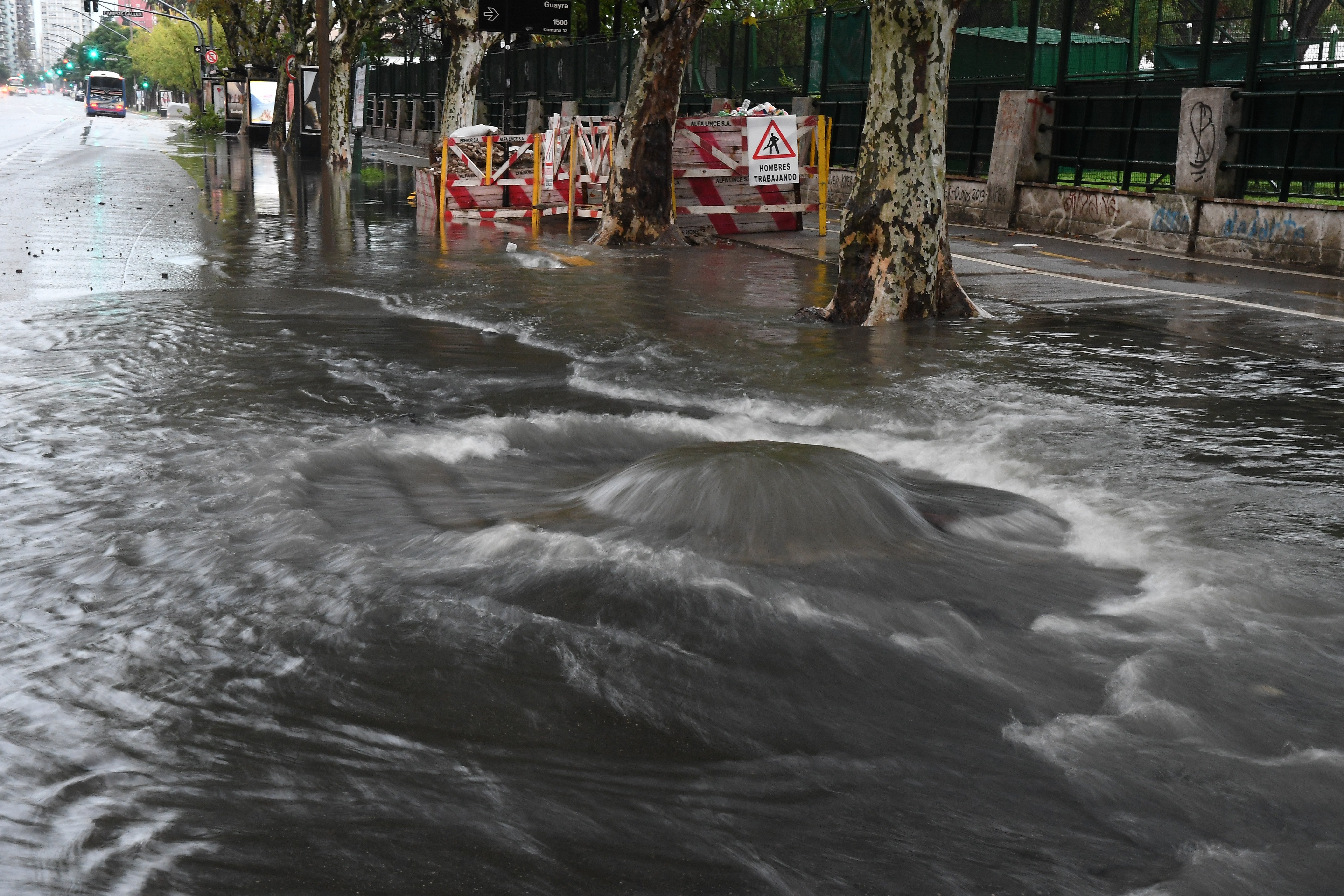Temporal deja dos muertos y 400 evacuados en provincia argentina
