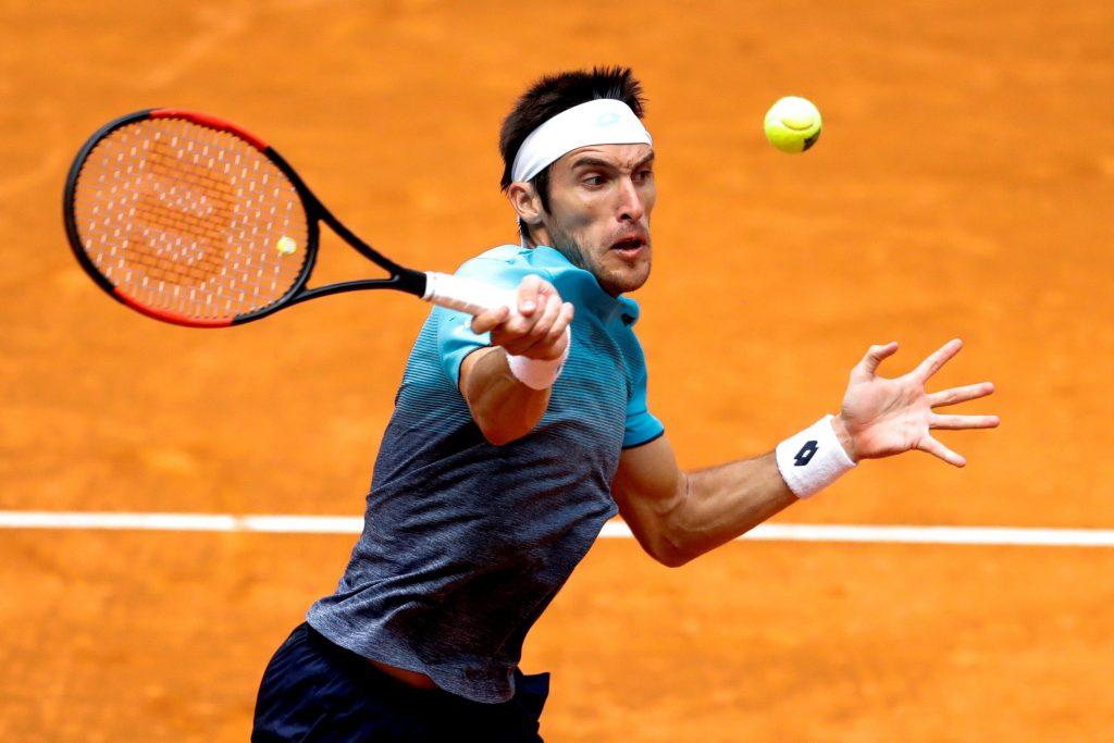 Del Potro tuvo su victoria en el Masters 1000 de Roma