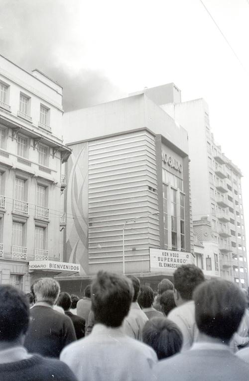 El incendio del Cine Nogaró, ocurrido el 1 de enero de 1968.
