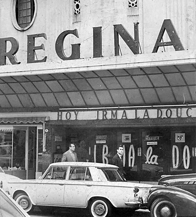 El cine Regina, de San Martín casi Santiago del Estero, era uno de los más antiguos de la ciudad.